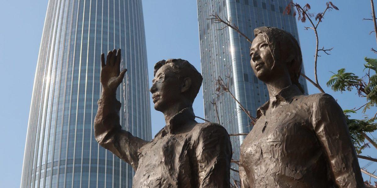Shenzhen on historiaansa rakentava suurkaupunki!