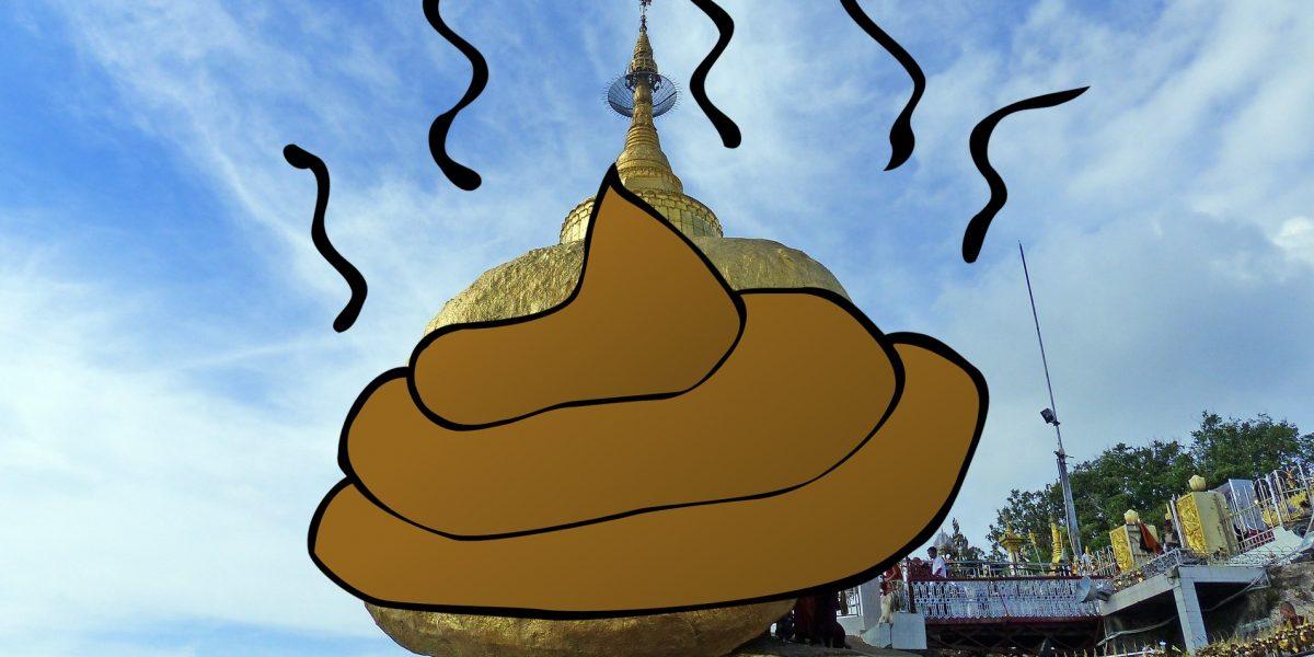 Muistelmat: Golden Rock – paska reissu Myanmarissa